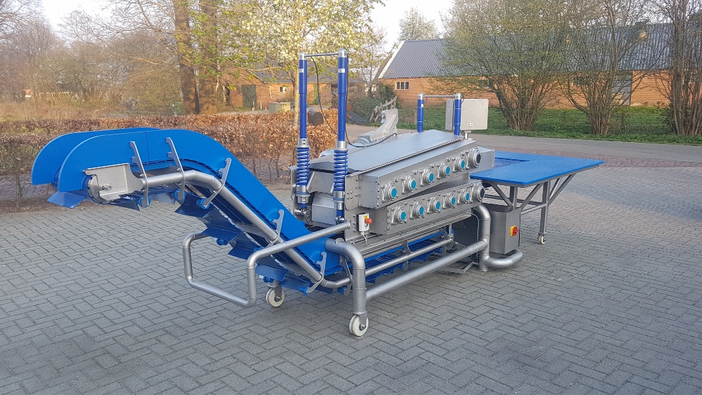 machine voor voedingsmiddelenindustrie